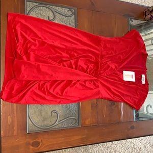 New, never worn Belle Badgley Mischka Midi Dress